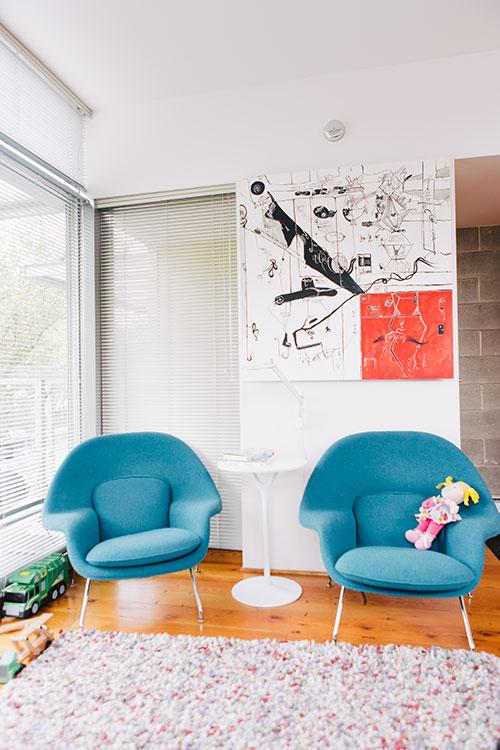 Bruce Haden living room