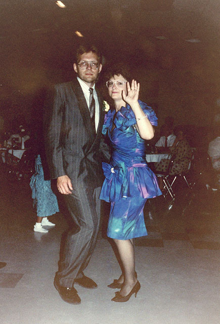 Tara Ducheminsky's dad dancing.