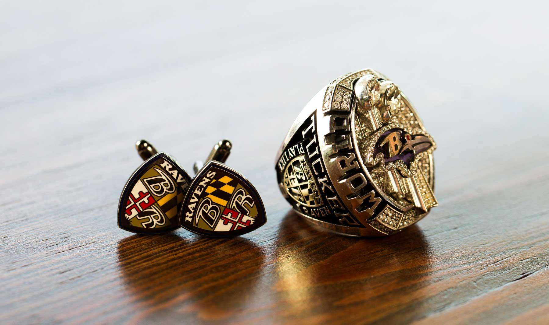 Tucker's 2012 Super Bowl ring