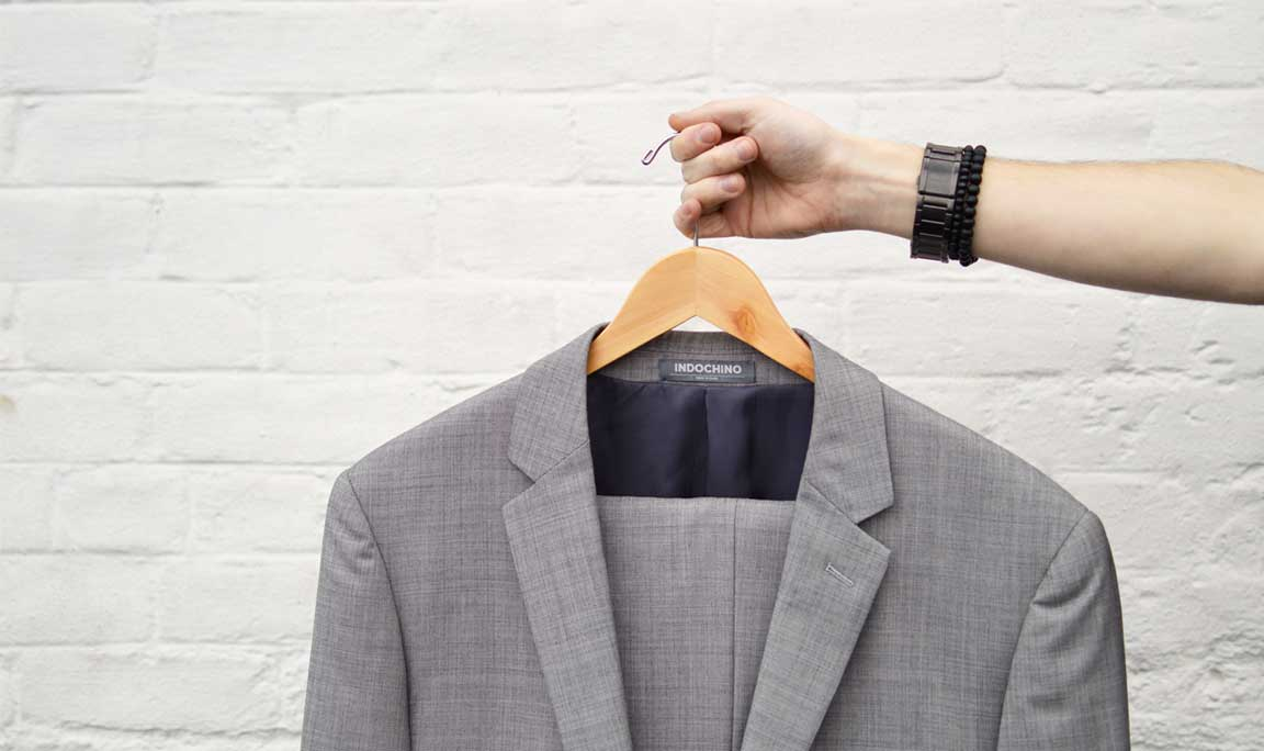 How to properly care for your suit - invest in quality wood hangers