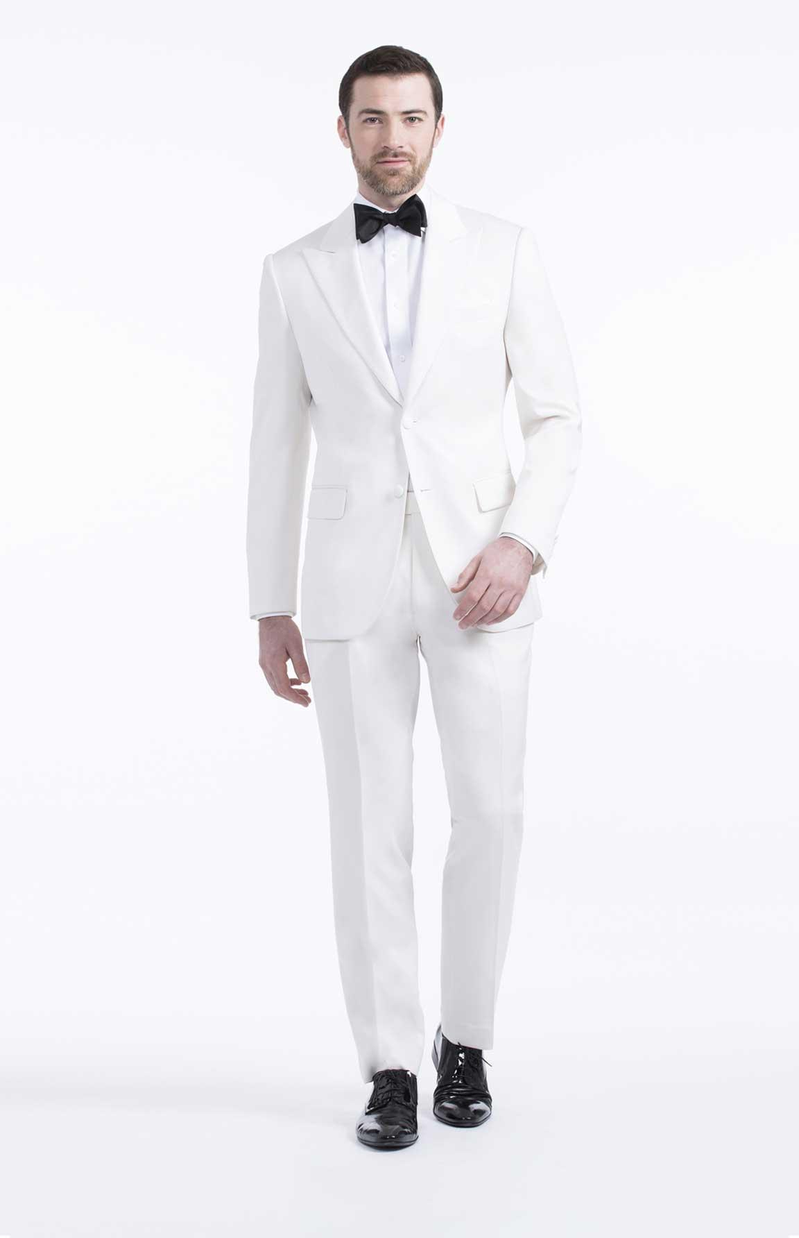 Black Suit White Shoes