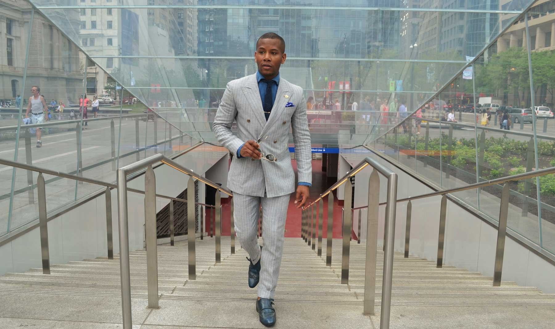 Your City, Your Suit, Your Style: Sabir M. Peele from Mens Style Pro