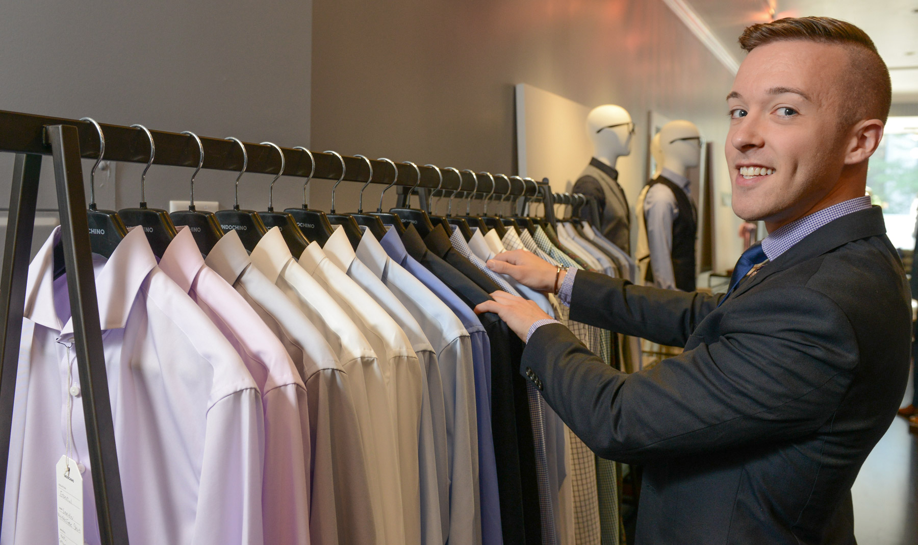 Meet Chris! Indochino's Boston Showroom Manager