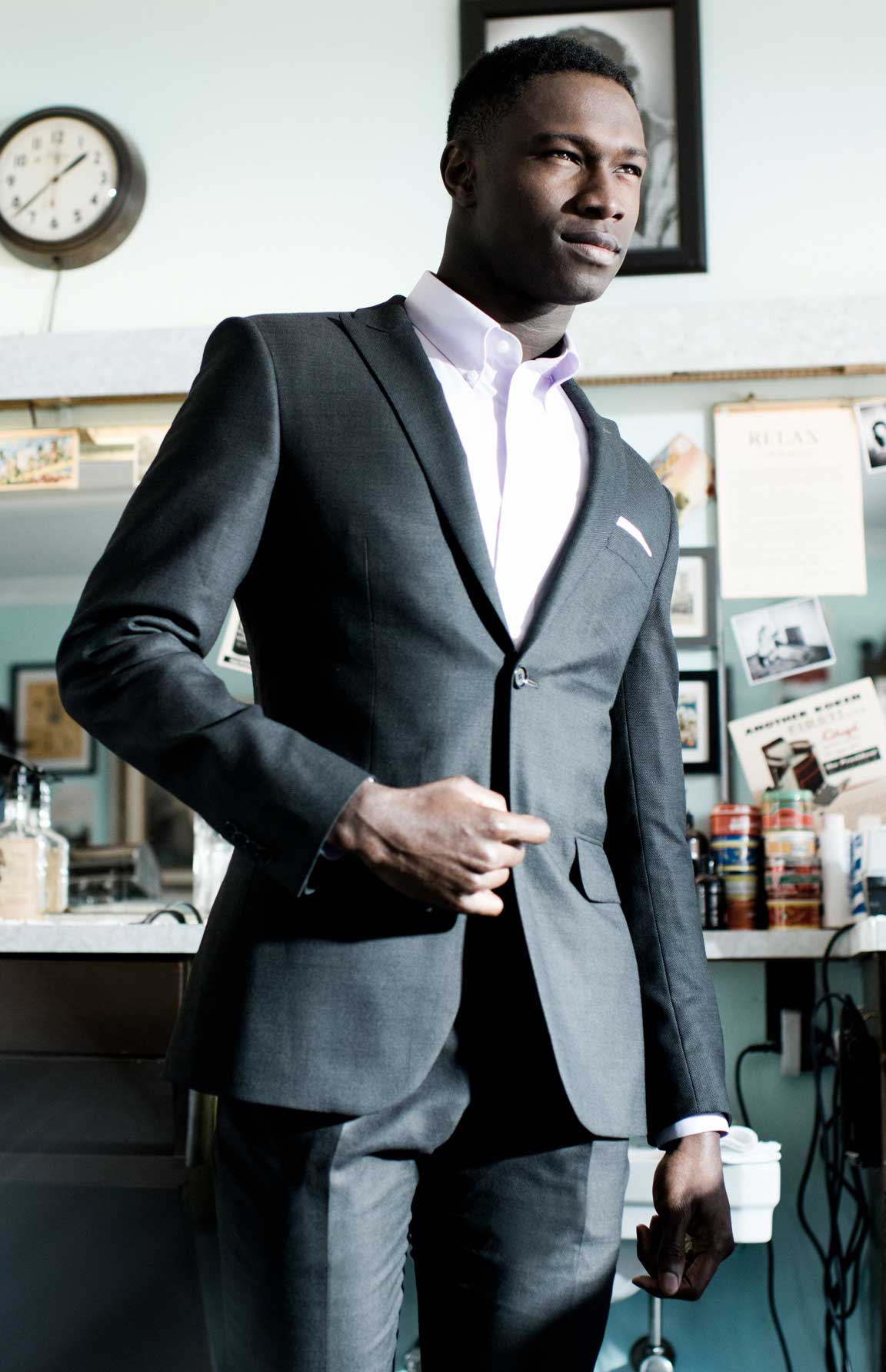 And look even better in your second suit.