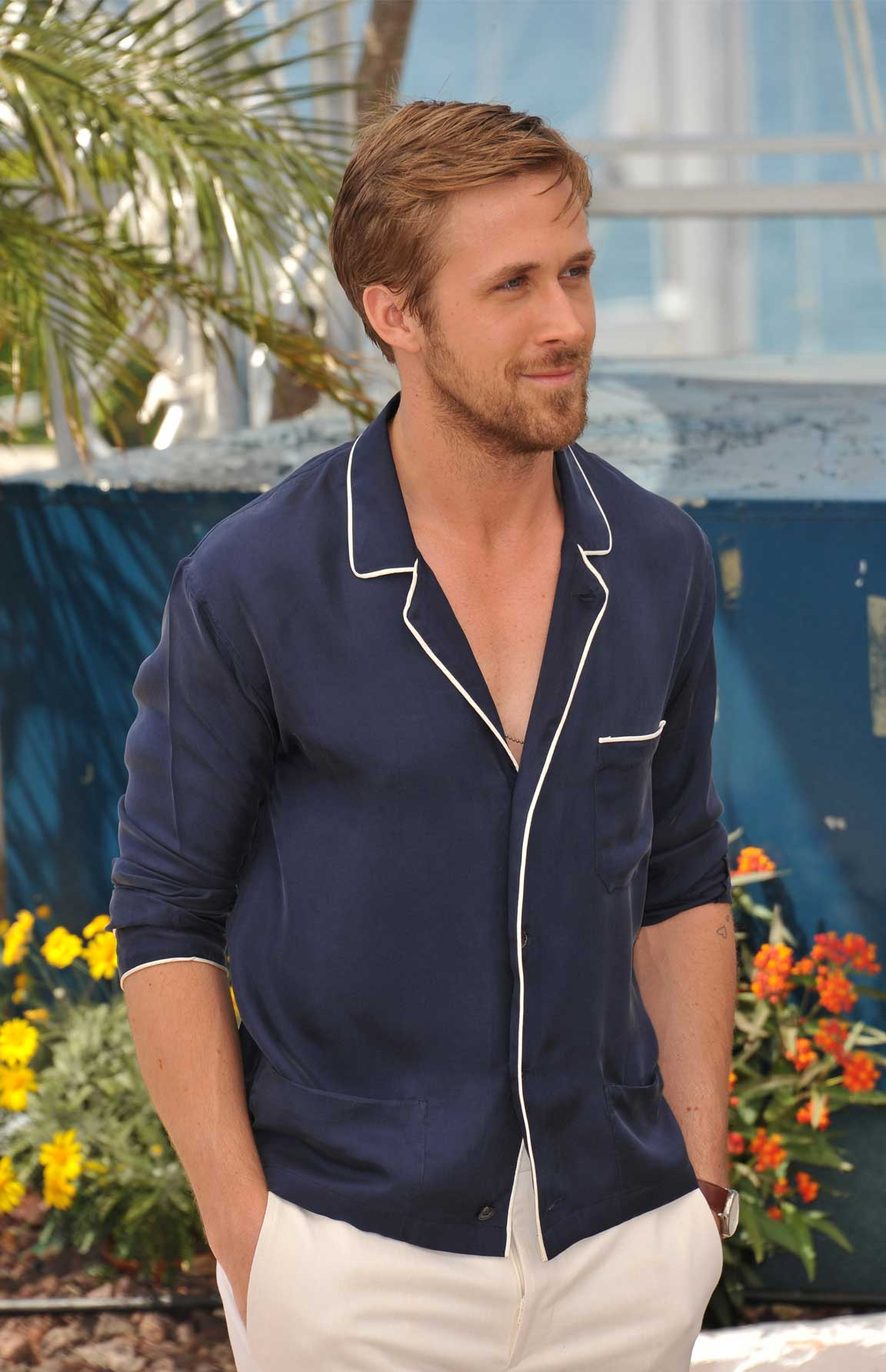 Ryan Gosling is the king of cool, even in the summer