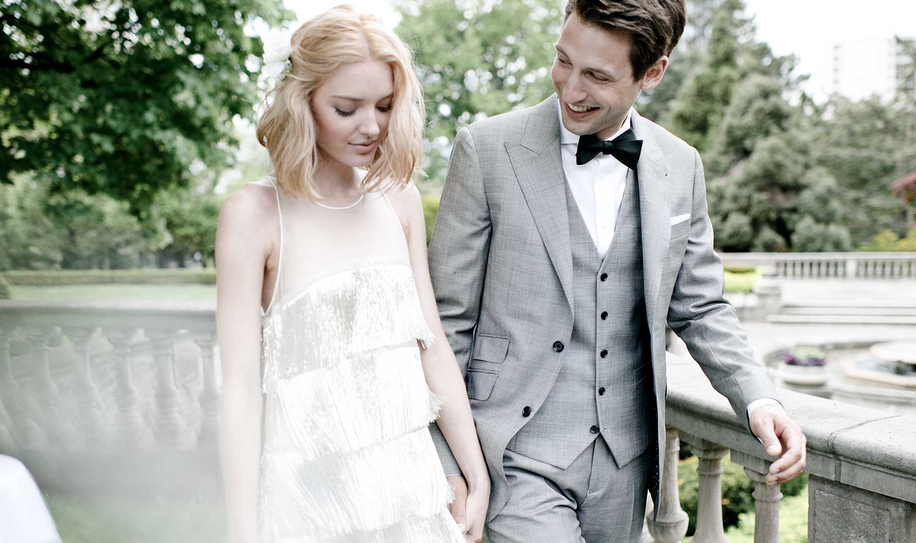 The wedding suit—not just for weddings!