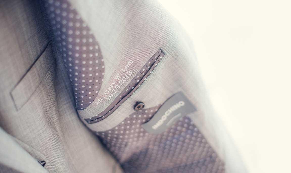 Wedding Jacket Monogram