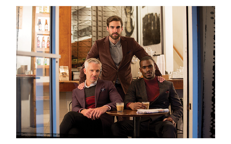 The mod attitude is alive and well in Indochino's FW17 shoot.