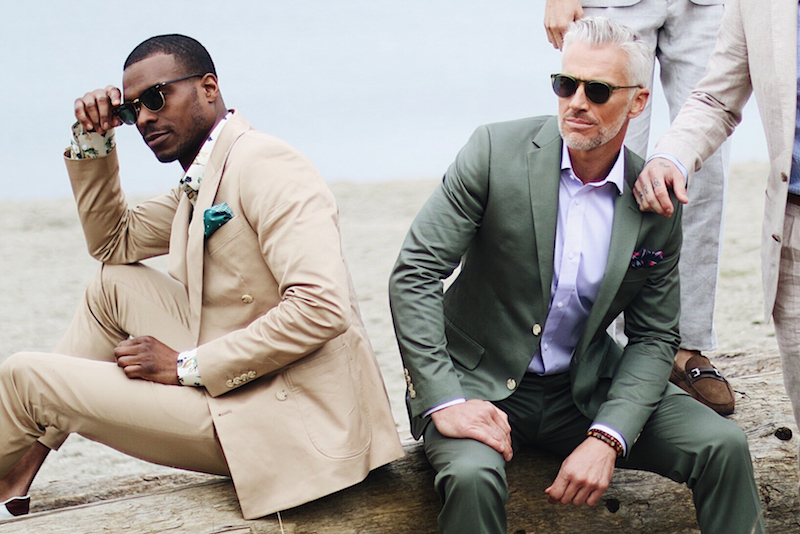 Summer tans and casual looks by INDOCHINO