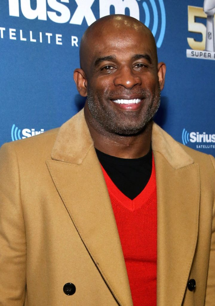 Deion Sanders via New York Post