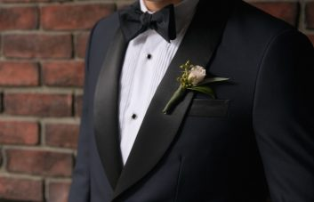 Indochino's Midnight Blue Tuxedo