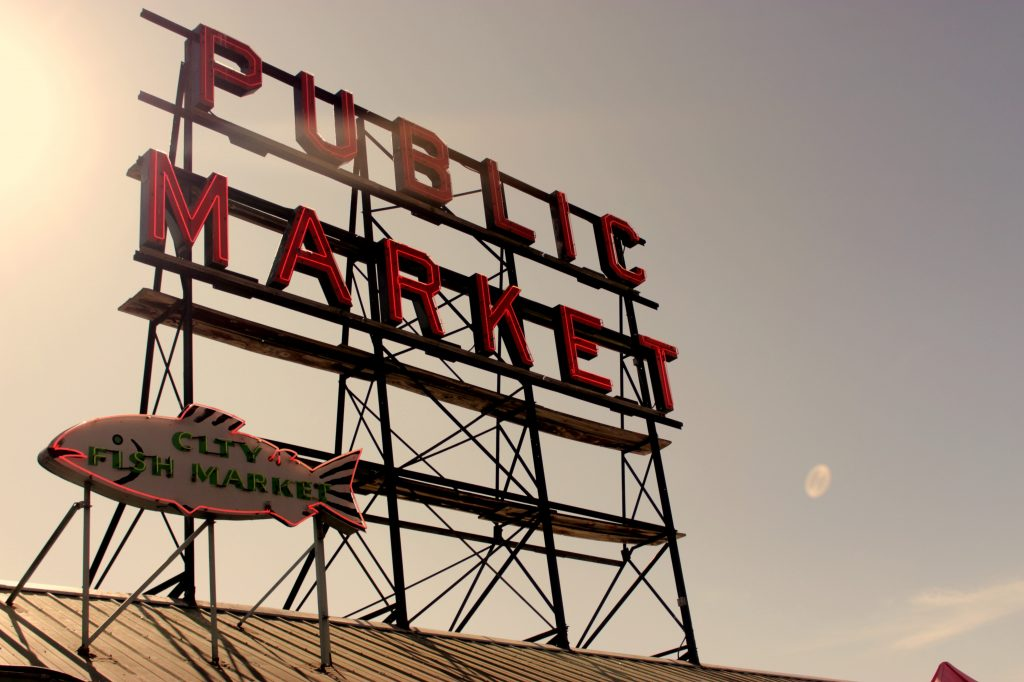 Sarah Brink photo of Pike Place Market