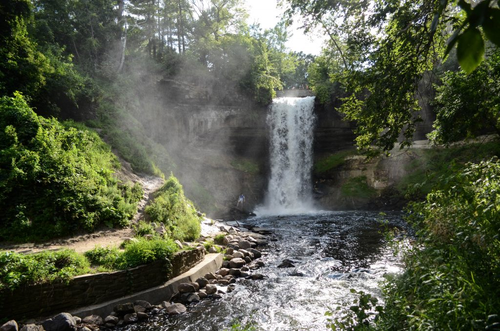 Stunning views at Minnehaha Park. Photo by Atharva Tulsi